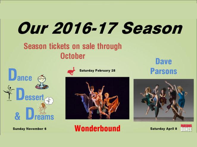 Colorado Springs Dance Theatre Season ticket hero