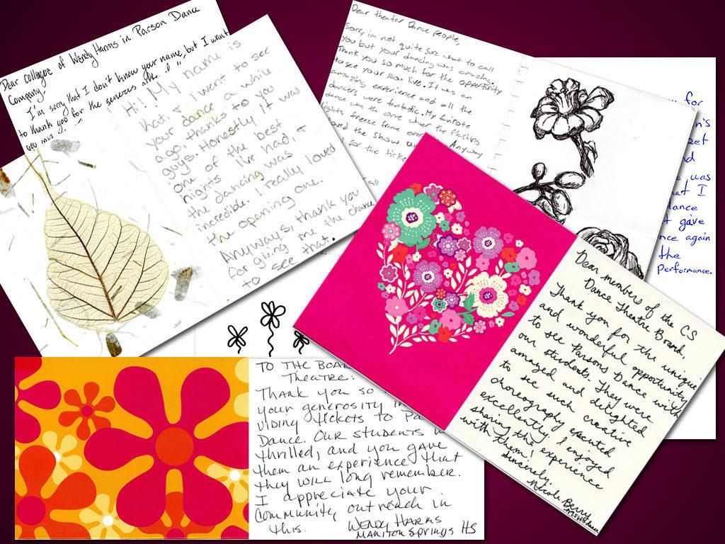 Parson's Letters