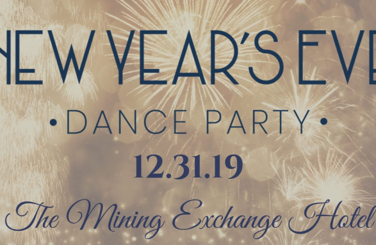NYE Dance Party Banner