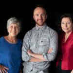 CSDT directors Emily Murawski, Jordan McHenry, Beth Carlson