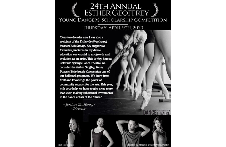 The 24th Annual Esther Geoffrey Youth Dance Scholarship Program